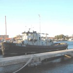 The tug NATICK in La Maddalena Sardinia