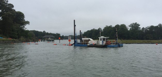 Maintenance and New Work Dredging, Wormley Creek Channel, Yorktown, Virginia