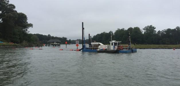 Maintenance and New Work Dredging, Wormley Creek Channel, Yorktown, Virginia
