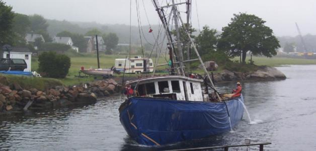 Annisquam River Wreck Removal